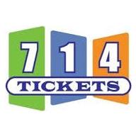 714Tickets.com coupons