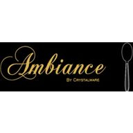 Ambiance By Crystalware coupons