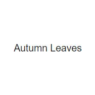 Autumn Leaves coupons