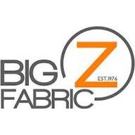 Big Z Fabric coupons