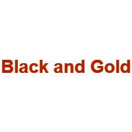 Black and Gold coupons