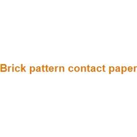 Brick pattern contact paper coupons