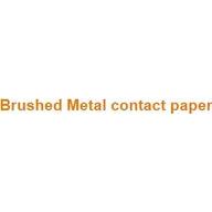 Brushed Metal contact paper coupons