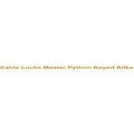 Cable Locks Master Python Keyed Alike coupons
