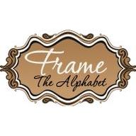 Frame The Alphabet coupons