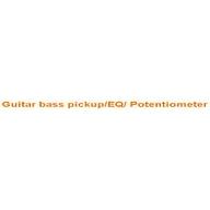 Guitar bass pickup/EQ/ Potentiometer coupons