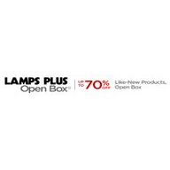 Lamps Plus Open Box coupons