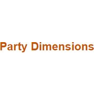Party Dimensions  coupons