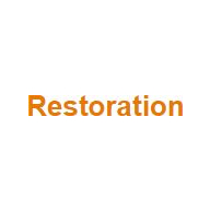 Restoration coupons