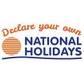 National Holidays coupons
